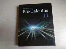 Pre-calculus 11(英文原版 精装)有笔迹
