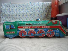 铁皮玩具火车