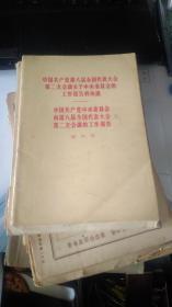 中國共產黨第八屆全國代表大會第二次會議關于中央委員會的工作報告的決議 .