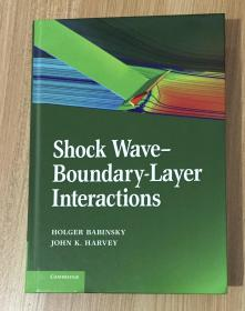 Shock Wave-Boundary-Layer Interactions 激波边界层干扰 9780521848527 0521848520