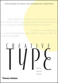 Creative Type英文字母字体艺术 平面设计 媲美象形5000 英文原版