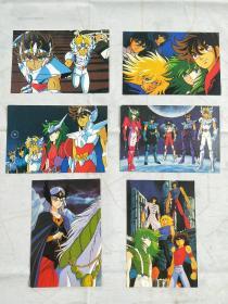 圣门士 明信片 (6张合售)