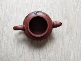 周桂珍款紫砂壶(缺壶盖)