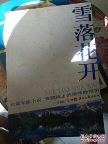 长篇军旅小说:雪落花开
