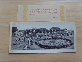 老照片:【※1960年,上海市虹桥人民公社,大搞环境卫生※】