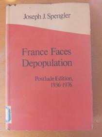 France faces depopulation:postlud edition 1936-1976