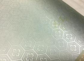 写经用纸14    手漉  高级装饰和纸(花甲纹  金箔 1枚)