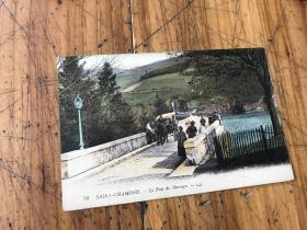 2775:1921年实寄 风景明信片