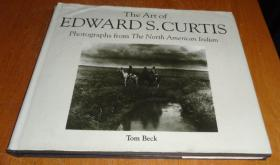 2手英文 The Art of Edward S. Curtis xfe28