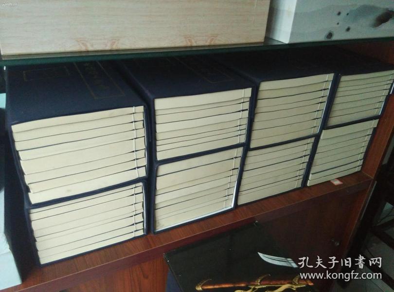 河北的书友注意了!低价出售大开本影印板《光绪顺天府志》8函64册!巨大巨厚!重40公斤左右!这个版本为研究机构的私印本,存世量极小!识者得