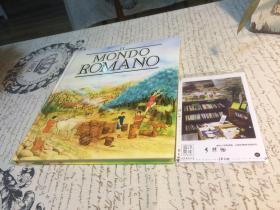 意大利文原版  Mondo romano 【存于溪木素年书店】