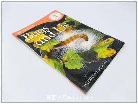 昆虫与人类生活 DK Readers: Bugs and Us 英文原版儿童百科