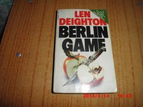 LEN DEIGHTON BERLIN GAME