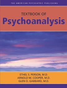 The American Psychiatric Publishing Textbook Of Psychoanalysis 9781585621521