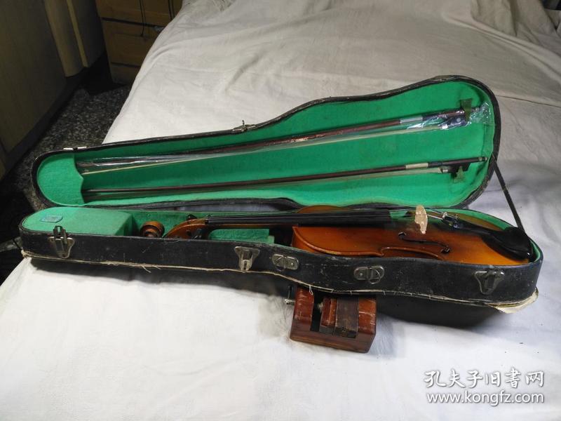 上海百灵牌4分之4成人小提琴