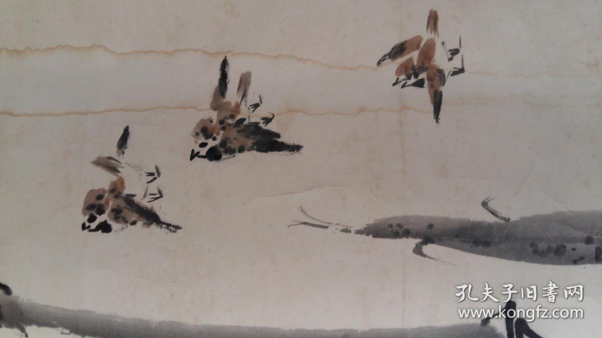 安徽淮南著名老画家(郑子枫)68×45……竹图片