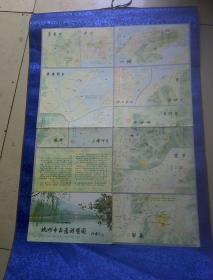 杭州市交通游览图(1983年)