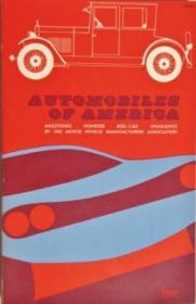 Automobiles Of America (a Savoyard Book)