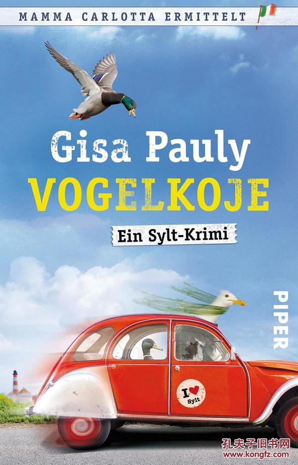 德文 德语小说 Vogelkoje: Ein Sylt-Krimi 德国原版