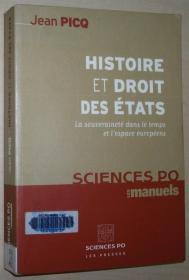 法语原版书 Histoire et Droit des Etats : La souveraineté dans le temps et lespace européens / 2005 de Jean Picq  (Auteur)