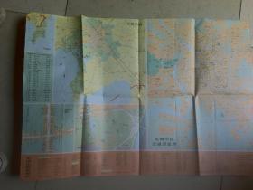 无锡宜兴交通游览图( 1988年)
