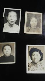 民国一家人的小照片8张