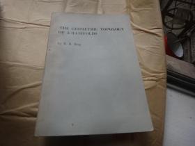 THE GEOMETRIC TOPOLOGY OF 3-MANIFOLDS 三维流形的几何拓扑 16开