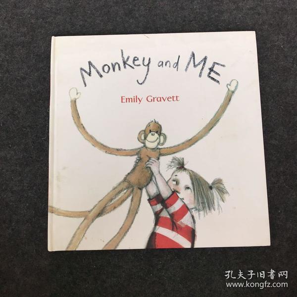英文原版绘本Monkey and Me 猴子和我 吴敏兰大开平装格林威奖作家Emily