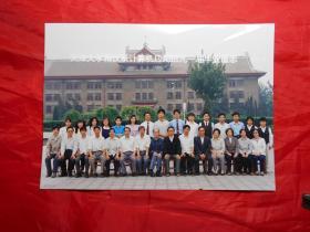 天津大学精仪系计算机应用班91届毕业留念 (背面有刘壮翀教授写的每人姓名)