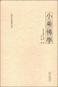 小乘佛学 现代世界佛学文库