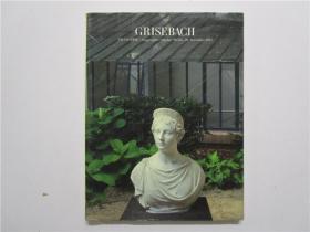 GRISEBACH 2012 艺术品拍卖(德文) 大16开