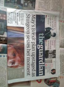 THE GUARDIAN 卫报 2017年3月14日 外文原版报纸