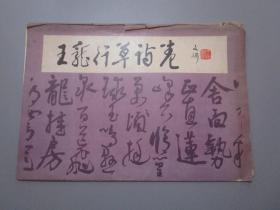 王宠行草诗卷(活页14张)