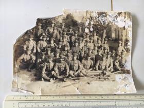 侵华日军照片:日本兵合影