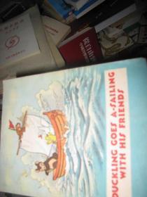 小鸭子和朋友去航海 英文版