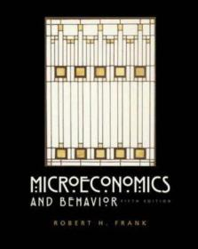 微观经济学与行为 Microeconomics and Behavior 英文原版