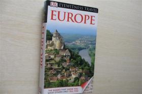 DK Eyewitness Travel Guide: Europe[DK目击者旅游指南:欧洲] 英文版