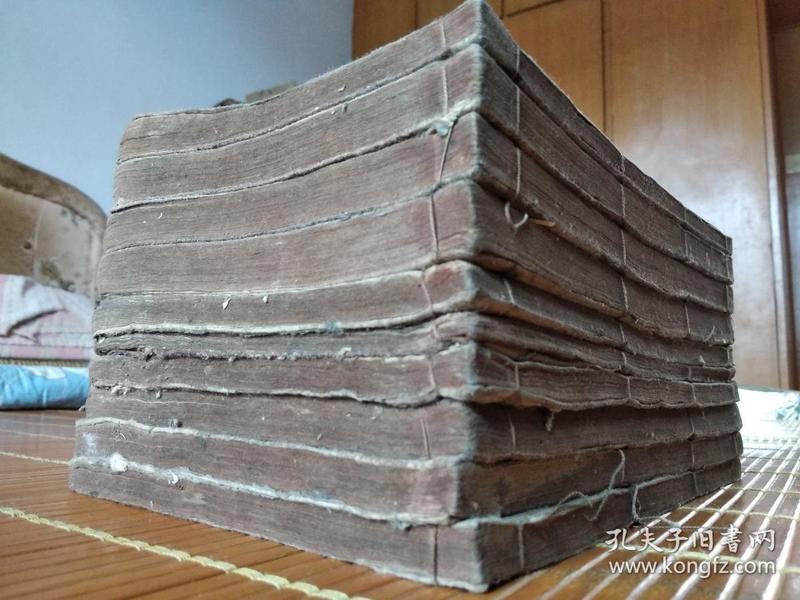 低价出售乾隆59年和刻大开本《四书集注》原装一套10厚册全