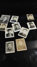 民国刘思诚等师生毕业时互赠免冠照片10张