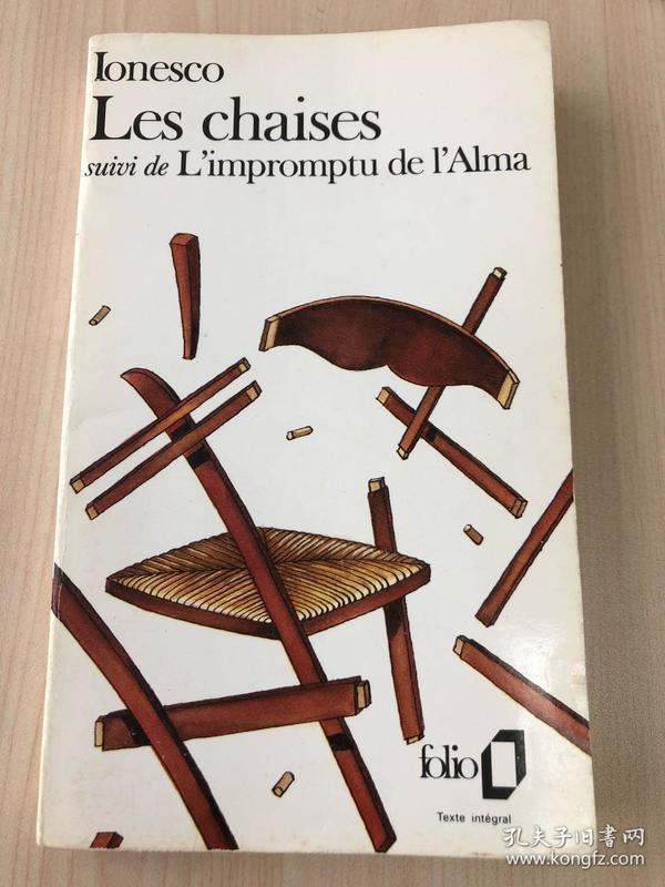 Les chaises / L'impromptu de l'Alma