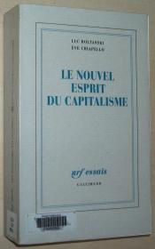 法语原版书 Le nouvel esprit du capitalisme Broché – 1999 de Luc Boltanski  (Auteur), Ève Chiapello (Auteur)