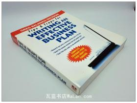 写有效商业计划的窍门和陷阱 Tips and Traps for Writing an Effective Business Plan 英文原版