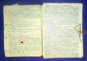 21011354 卫生部微量元素重点实验室主任陈孝曙手稿600页左右