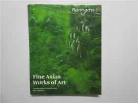 Bonhams 邦瀚斯 2012(fine asian works of art精美的亚洲艺术作品)