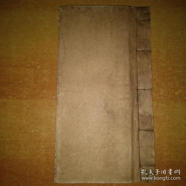 3723清代手抄符咒秘本《灵符秘旨》一册全,符咒多!