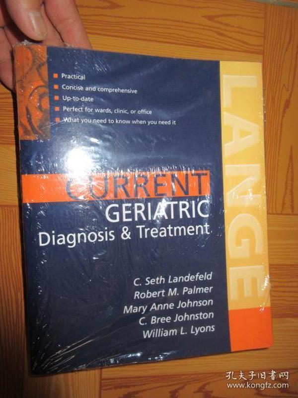 Current Geriatric Diagnosis and         【详见图】