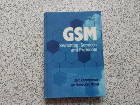 GSM:  Switching, Services and Protocols  精装本
