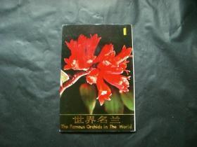世界名兰明信片(1)10张一套
