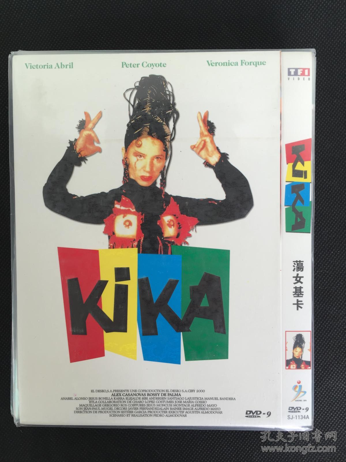 女���*:!&���&d9�-�`_【d9西班牙片  佩德罗·阿莫多瓦】荡女基卡 kika (1993) 贝罗尼卡