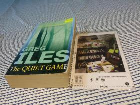 【前数页有污  】英文原版 the quiet game  【存于溪木素年书店】